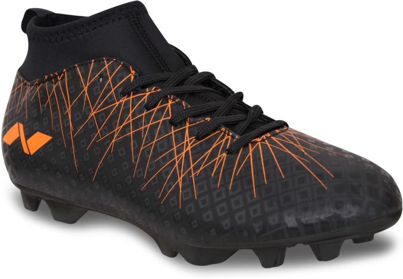 Nivia Pro Carbonite 2.0 Football Shoes For Men(Black, Orange)