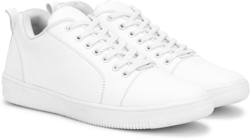 Kraasa Casuals, Canvas, Partywear Sneakers For Men(White)