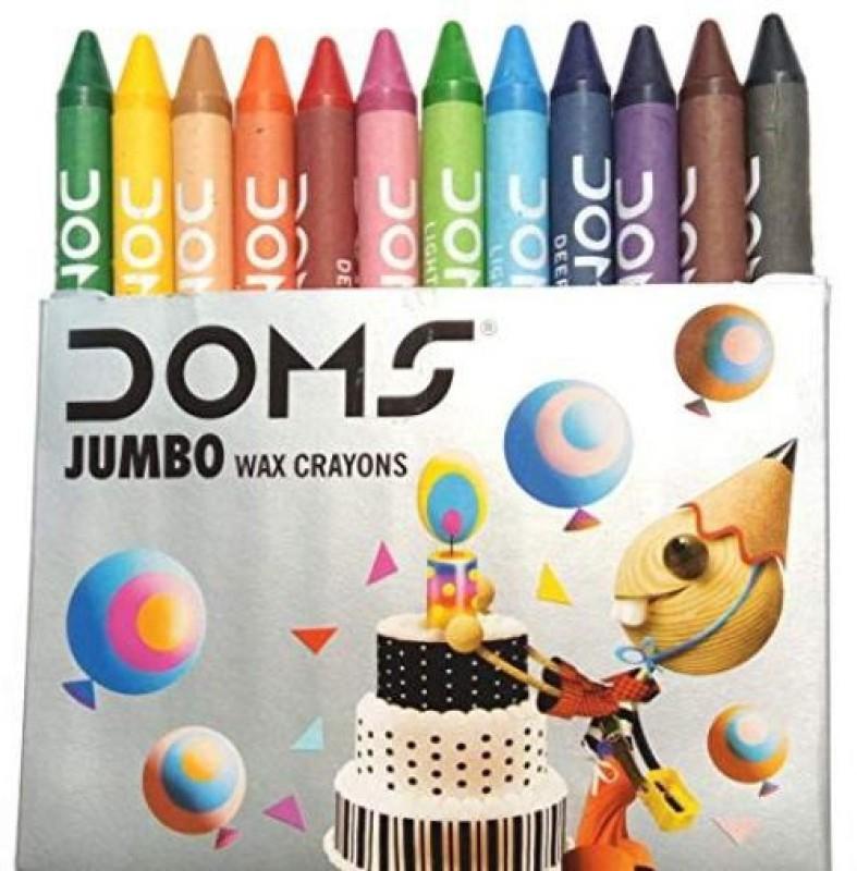 DOMS NA Wax Color(10 pieces)