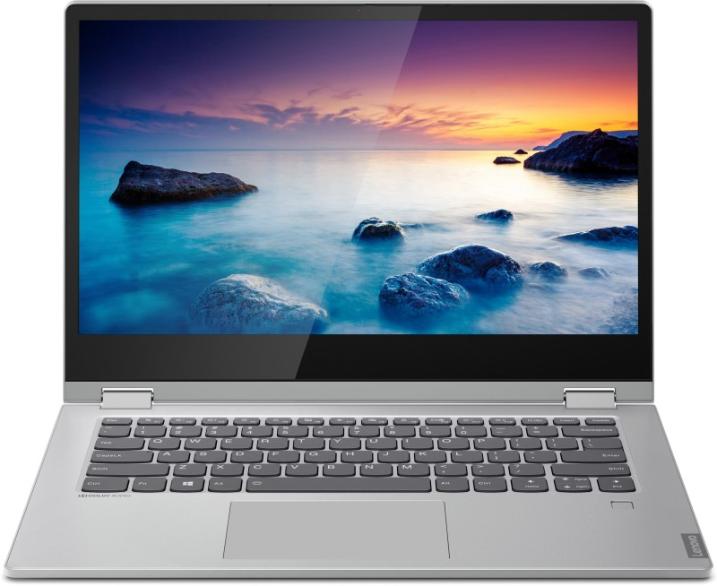 Lenovo Core i3 8th Gen - (4 GB/256 GB SSD/Windows 10 Home) C340-14IWL 2 in 1 Laptop(14 inch, Platinum, 1.65 kg, With MS Office)