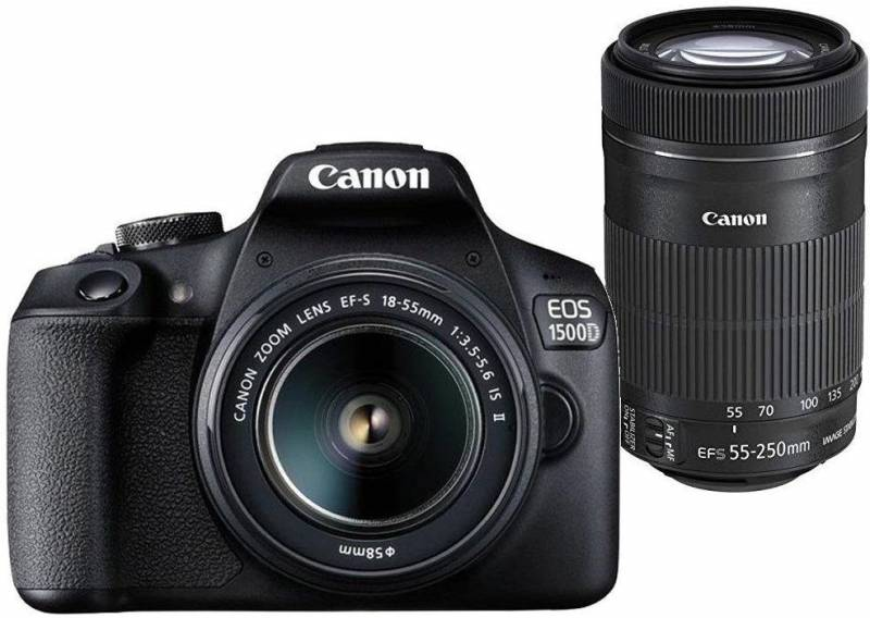 Canon EOS 1500D DSLR Camera Body Dual kit with EF-S...