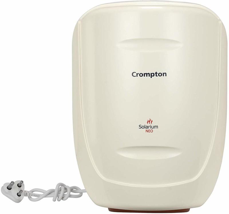 Crompton 6 L Storage Water Geyser (ASWH1606, Ivory)