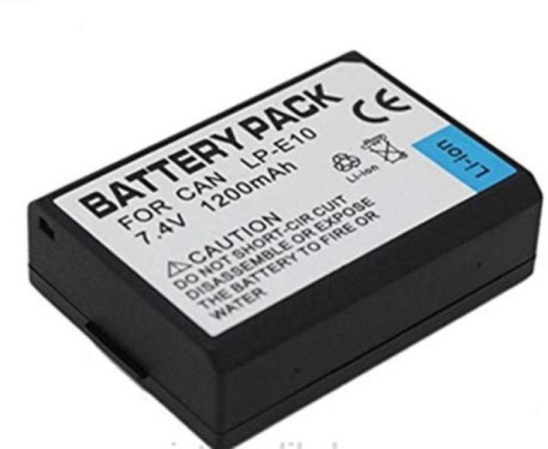SHOPEE 1100D 1200D 1300D, Rebel T3 T5 T6, Kiss X50 X70 X80 Battery