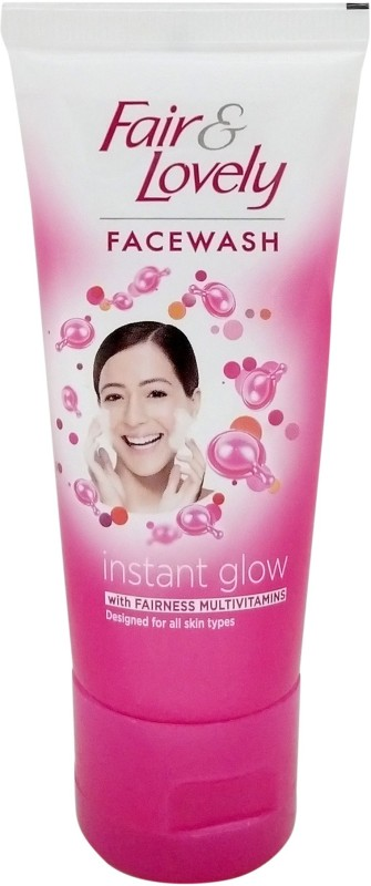 Fair & Lovely Instant Glow with Fairness Face Wash(50 g)