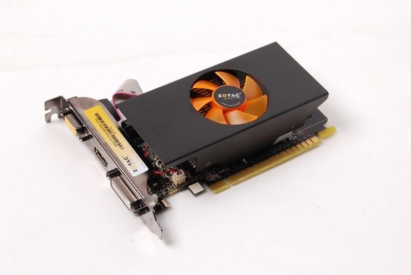 ZOTAC NVIDIA GT 730 LP 2GB 64BIT GDDR5 2 GB GDDR5 Graphics Card