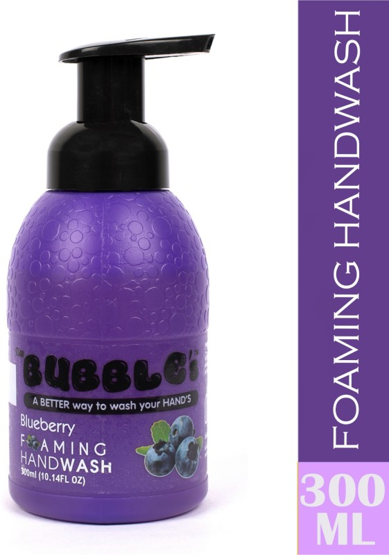 Csm Bubbles BlueBerry Foaming hand wash Bottle(300 ml)