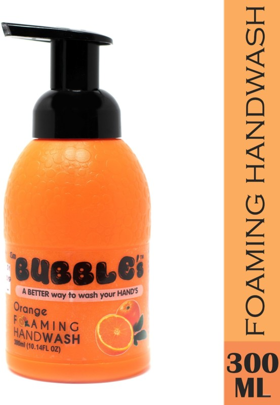 Csm Bubbles Orange Foaming hand wash Bottle(300 ml)