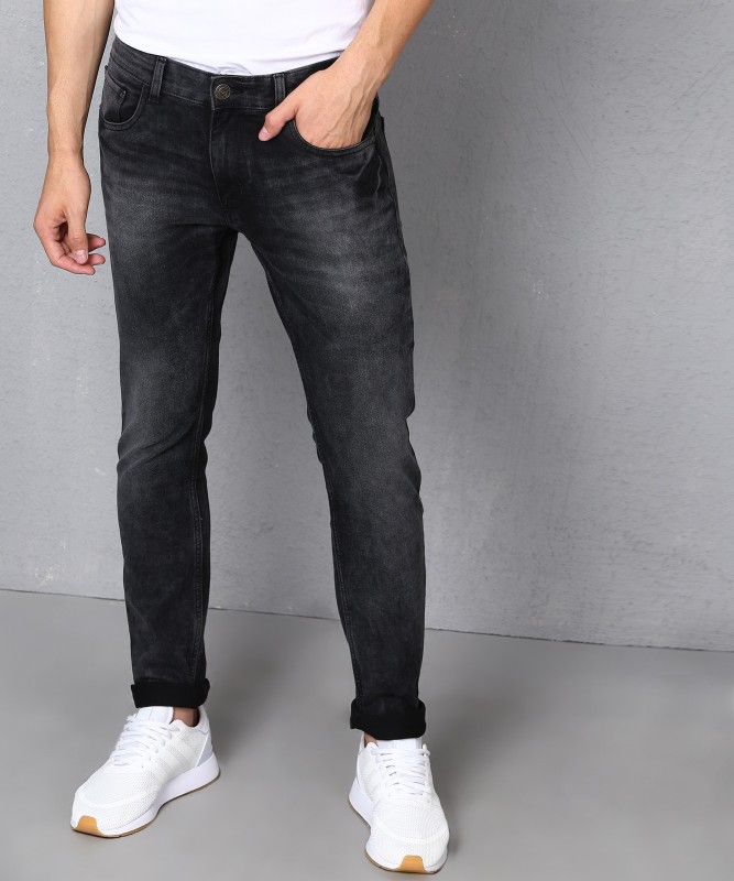 Metronaut Slim Men Grey Jeans