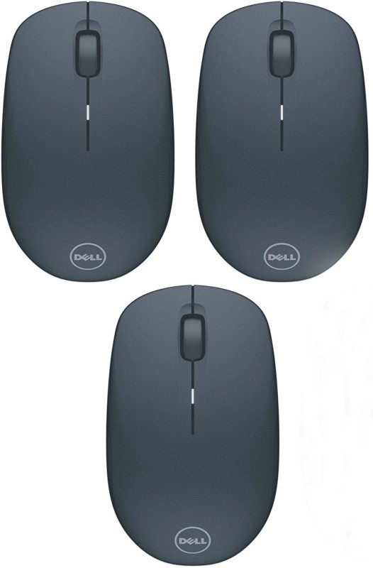 Dell WM126-3P Wireless Optical Mouse(2.4GHz Wireless, Black)