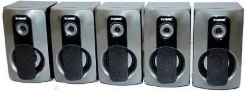 9 core 1008 HI BASS HOME THEATRE SYSTEM 5.1 Bluetooth Home Theatre(Silver, 5.1 Channel)