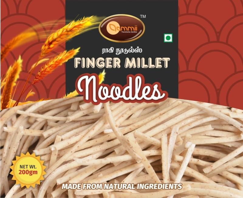 Aammii Finger Millet Noodles Hakka Noodles Vegetarian(200 g)