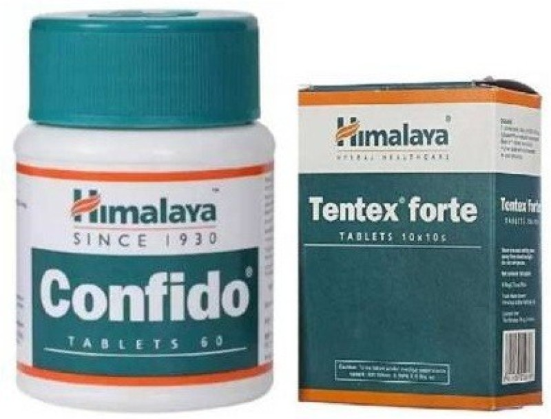 Himalaya Tentex Forte + Confido(2 Items in the set)