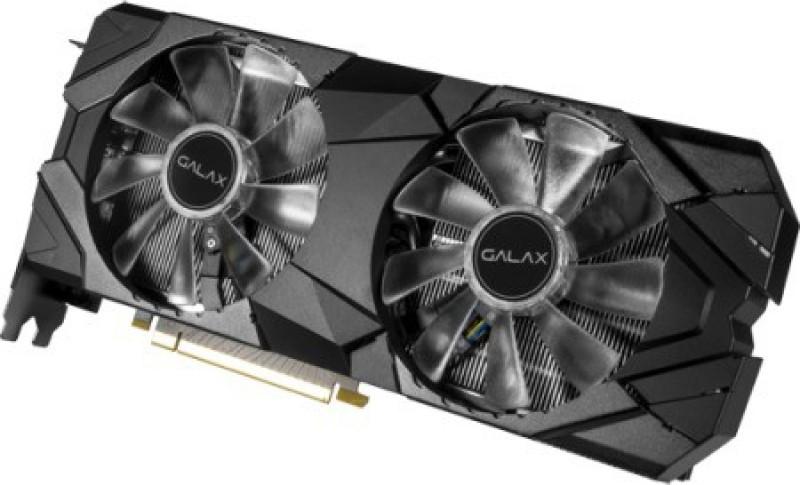 GALAX NVIDIA 2080 8 GB GDDR6 Graphics Card(Black)