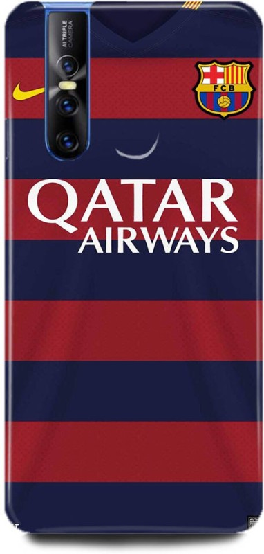 Play Fast Back Cover for Vivo V15 Pro/1818 QATAR AIRWAYS PRINTED(Multicolor, Hard Case)