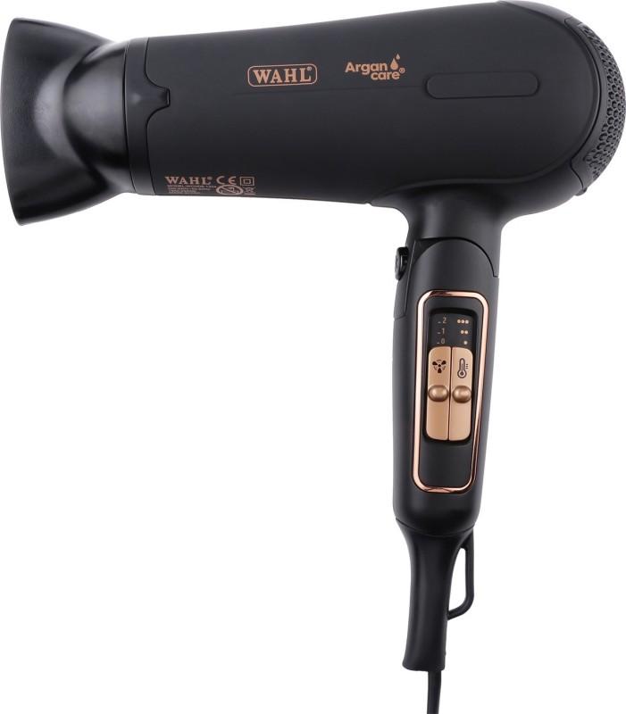 Wahl Argan Care WCHD8-1324 Hair Dryer(2200 W, Black)