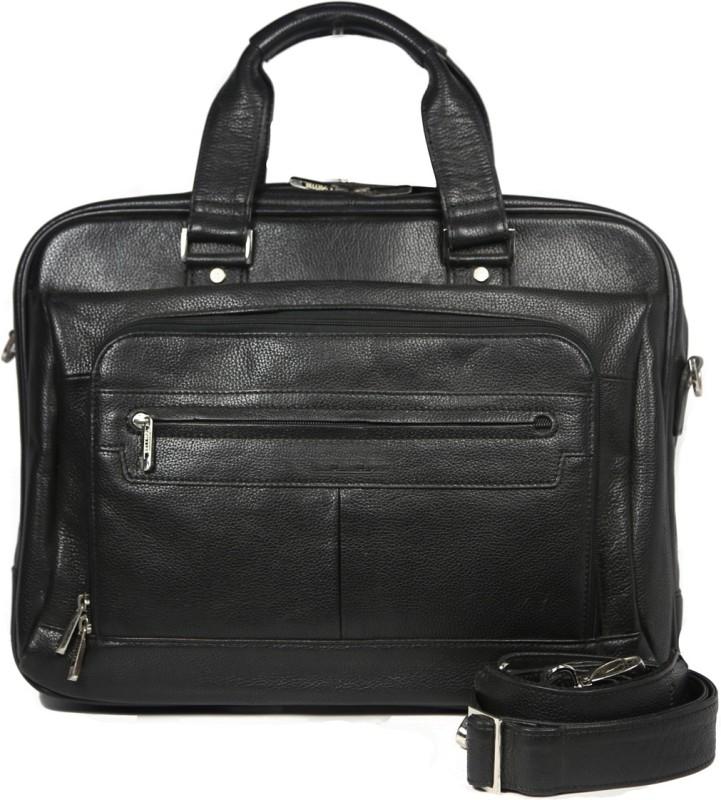 Leatherman Fashion Men & Women Black Messenger Bag