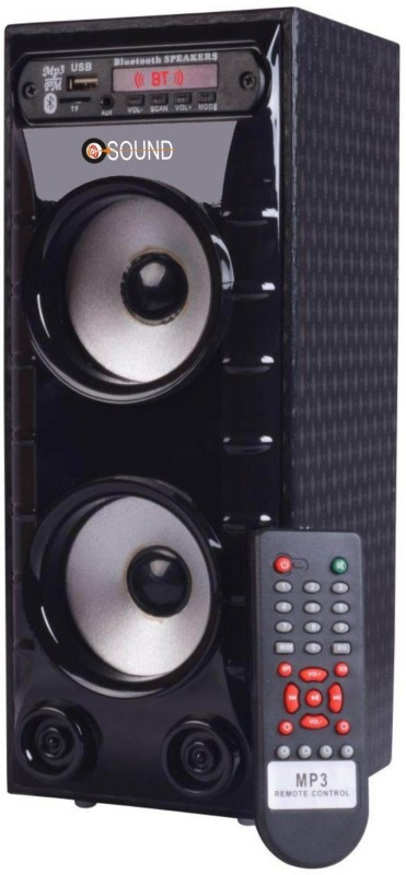 O.SOUND MINI BAHUBALI Tower Speaker(Black, 2.0 Channel)
