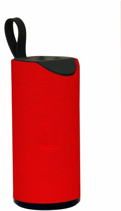 TechGear Compact Bluetooth Speaker Stereo Sound Box Speaker Wireless Subwoofer Loudspeaker, RED 5 W Bluetooth Speaker(Red, Mono Channel)