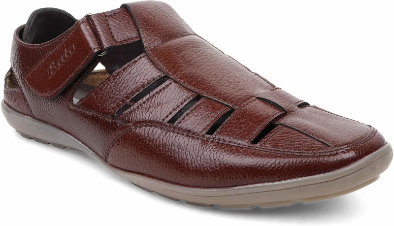 Bata Men Brown Casual