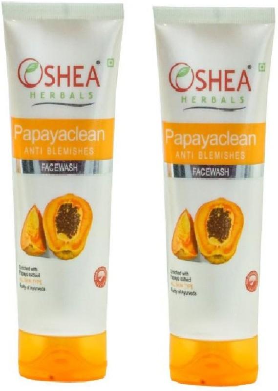 Oshea Herbals PapayaClean Face Wash (120 g) pack of 2 Face Wash(240 ml)