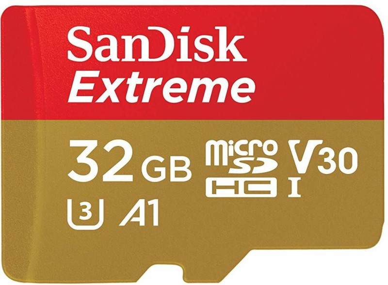 SanDisk Extreme 32 GB MicroSDHC Class 10 100 MB/s Memory Card