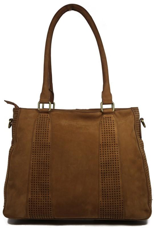 Leatherman Fashion Tan Tote For Girls Messenger Bag(Tan, 2 L)