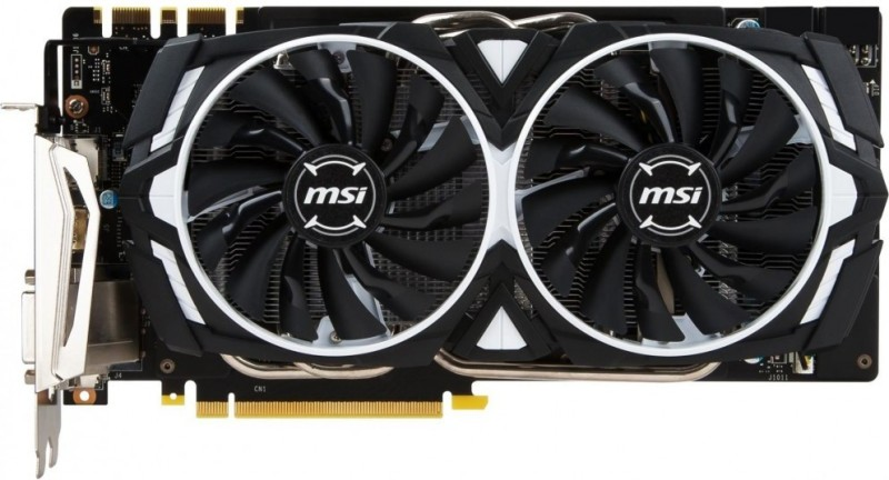 MSI NVIDIA 1070TI 8 GB GDDR5X Graphics Card(Black)