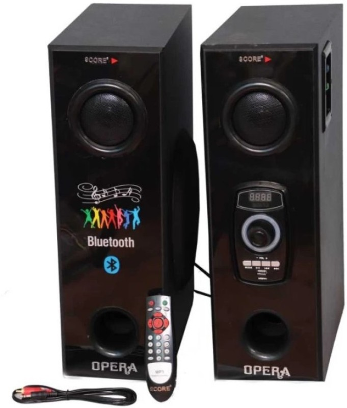 9 CORE Home Theater System TWIN 2 Tower Speaker(BLUETOOTH, USB, AUX, FM, MMC CARD, MIC)
