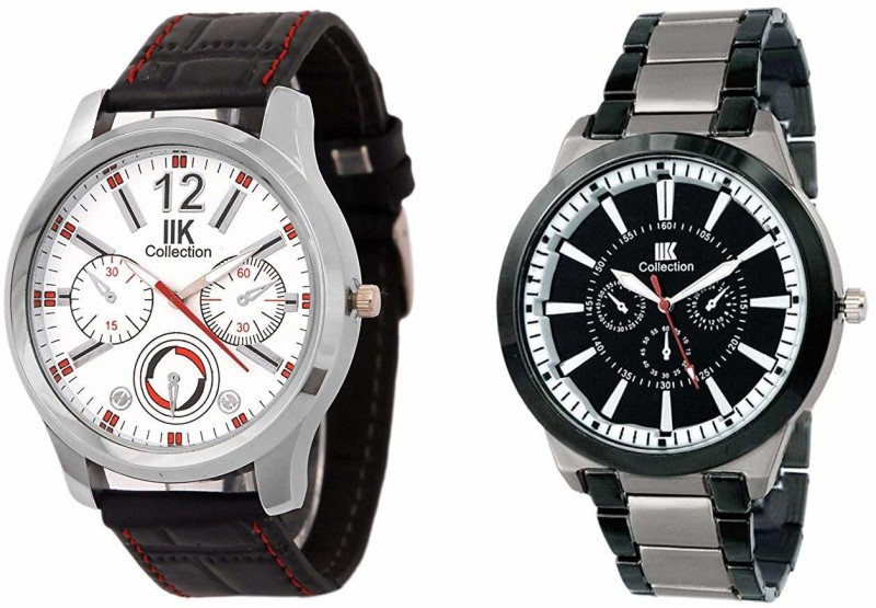 IIK Collection IIK501M Round Shaped Analog Watch - For Men