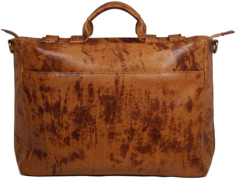Leatherman Fashion Men Tan, Brown Messenger Bag