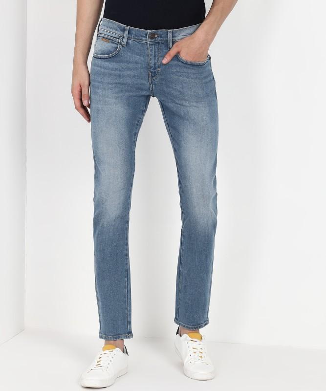 Wrangler Slim Men Blue Jeans