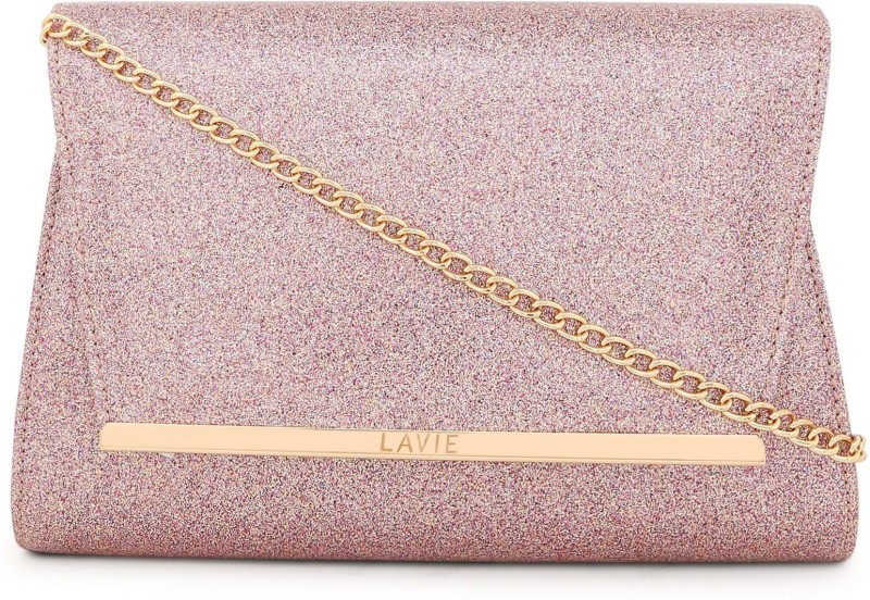 Lavie Party Pink  Clutch