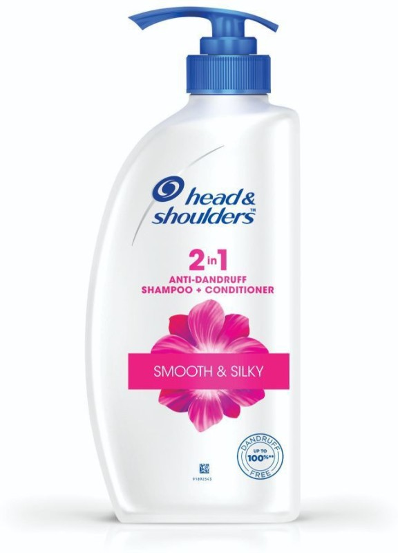Head & Shoulders Smooth and Silky 2-in-1 Shampoo(650 ml)