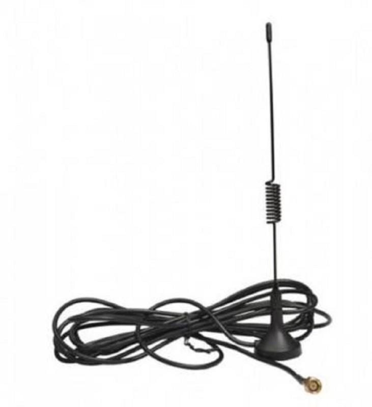 Techwiz Generic GSM 2G,3G,4G Long Wire Antenna Magnetic Mount-10 FEET/3 Meter Antenna Amplifier