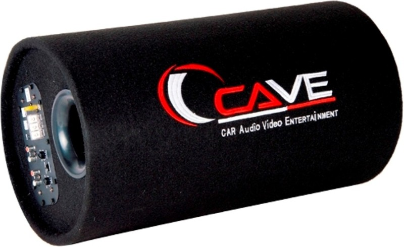 Cave CV-1010 Cave 3800w PMPO CV-1010 Car Bass Tube With 10 Inch Subwoofer Amplifier Subwoofer(Powered , RMS Power: 350 W)