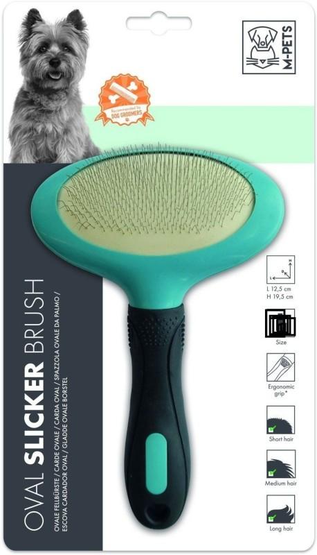 M-Pets Oval Large Slicker Brushes for Dog