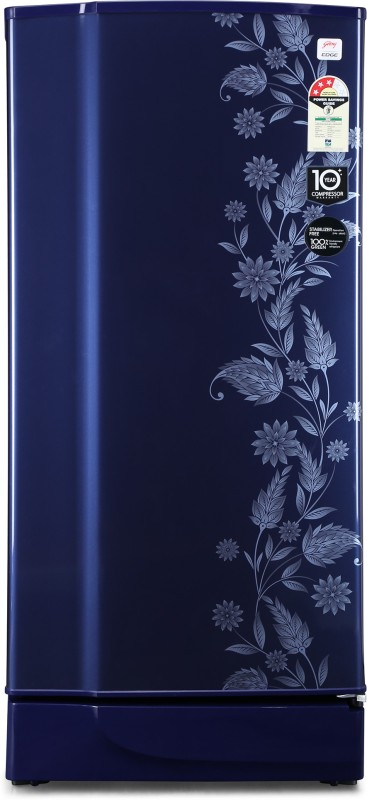 Godrej 200 L Direct Cool Single Door 3 Star Refrigerator(Royal Dermin, RD 2003 PT 3.2 DRM RYL)
