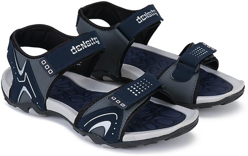 density Men Navy Sandals