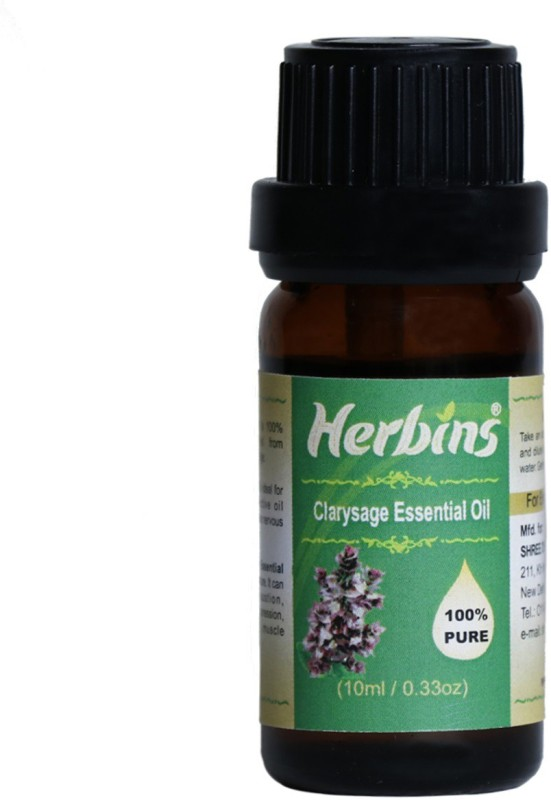 Herbins Clary Sage Essential Oil(10 ml)