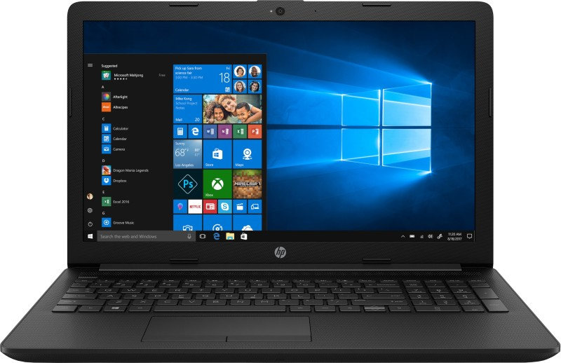HP 15q Pentium Gold - (4 GB/1 TB HDD/Windows 10 Home) 15q-ds0041TU Laptop(15.6 inch, Jet Black, 2.18 kg, With MS Office)