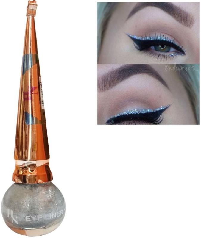 H&N Long Lasting Waterproof Liquid Shimmer Eyeliner Silver 5 g(Silver)
