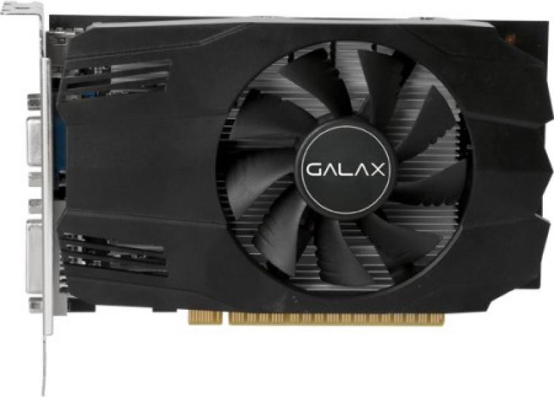 GALAX NVIDIA GEFORCE GT 730 4GB DDR3 4 GB GDDR3 Graphics Card(Black)