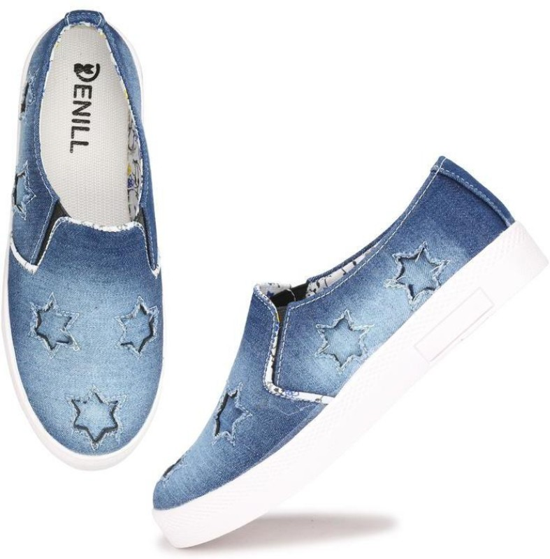 Sir Denill Sneakers For Women And Girls Sneakers For Women(Blue)