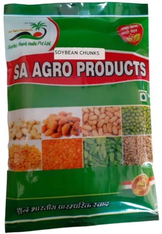 Sa Agro Products Soya Chunks(1 kg)