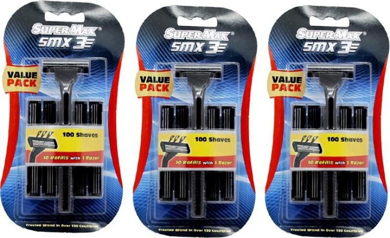 Super Max 3 SMX Razor(Pack of 3)