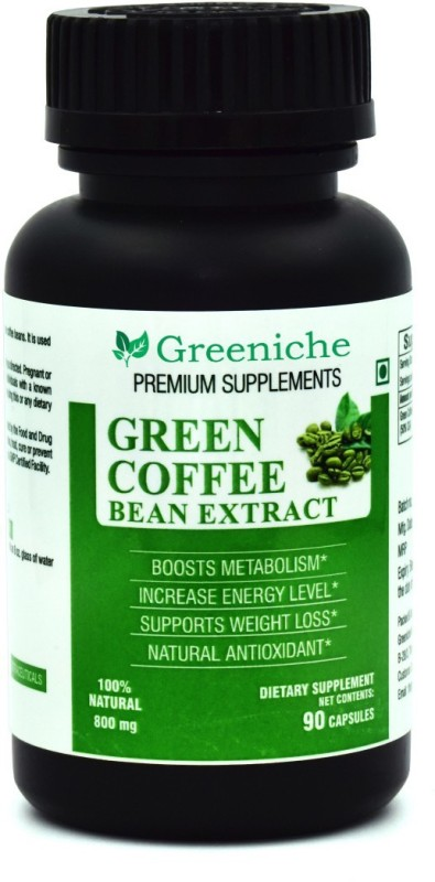 Greeniche Green Coffee Bean Extract 800mg For Weight Loss 90