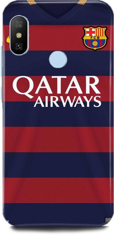 Play Fast Back Cover for Redmi Note 6 Pro/MZB6878IN QATAR AIRWAYS PRINTED(Multicolor, Hard Case)
