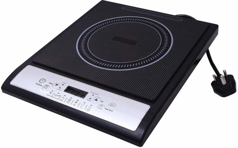 Homeleader HL-Cooktop-101 Induction Cooktop(Black, Push Button)