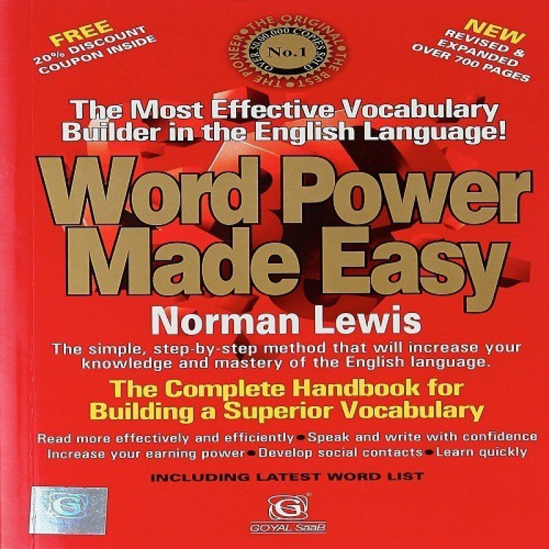 Word Power Made Easy Paperback(Paperback, Norman Lewis)