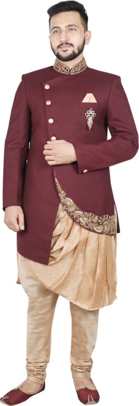 SG RAJASAHAB Men Kurta and Churidar Set